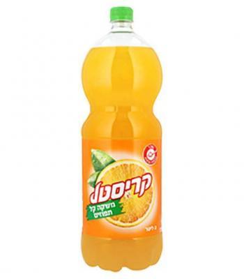 קריסטל מיץ תפוזים  2 ליטר כשל