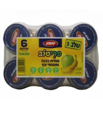 פריטוב תפוח עץ ובננה שלב 3 טעמן 6 יחידות עד