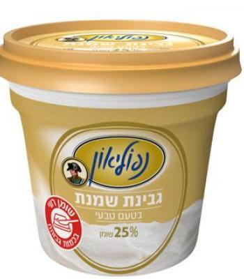 נפוליאון גבינת שמנת בטעם טבעי 25% תנובה 225 גרם כשל