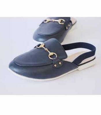 נעלי סנדל בנות כחול