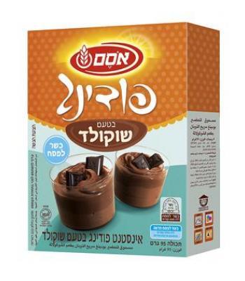 פודינג בטעם שוקולד אסם 95 גרם כשל