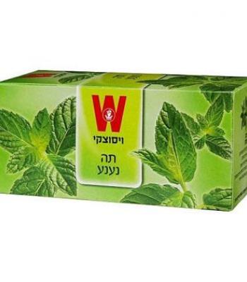 תה נענע 25 שקיקים ויסוצקי כשרות הרב רובין