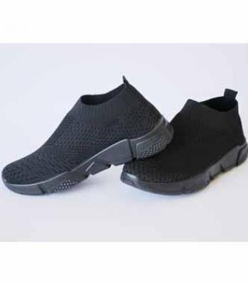 נעלי סניקרס נוחות - שחור