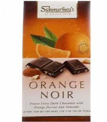 שוקולד שמרלינג מריר עדין בטעם תפוז 100 גרם כשל