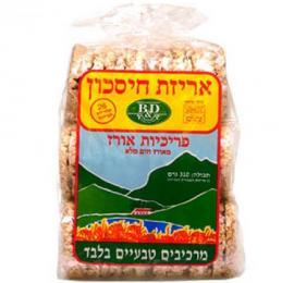 פריכיות אורז בי אנד די 310 גרם אריזת חיסכון