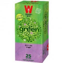 תה ירוק יסמין 25 כשרות הרב רובין