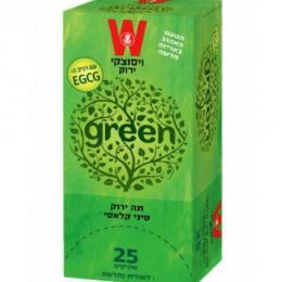 תה ירוק סיני 25 כשרות הרב רובין