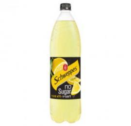 שוופס מוגז ללא סוכר לימונייד הרב רובין 1.5 ליטר