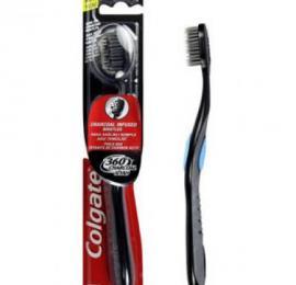 מברשת שיניים קולגייט 360 פחם