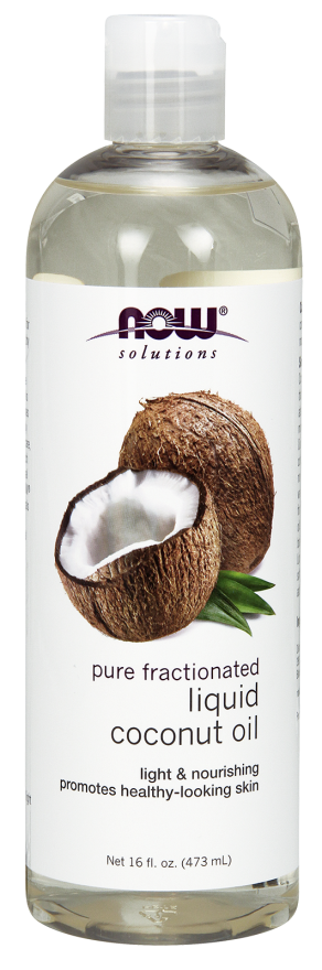Now Solutions Liquid Coconut Oill for Skin and Hair - 473 ml