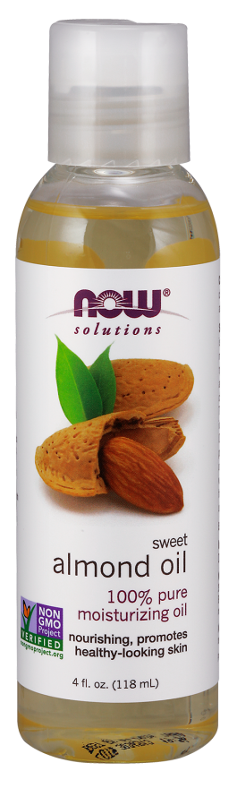 Now Solutions Sweet Almond Oil for Skin - 118 ml