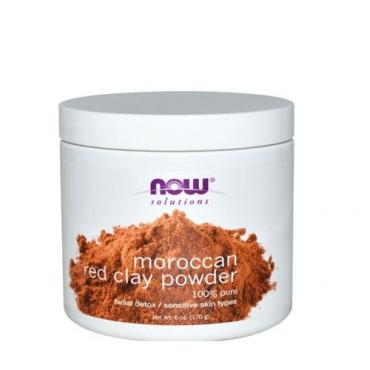 Now Solutions Moroccan Red Powder for Skin