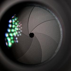 فتحة العدسة التصوير الفوتوغرافي