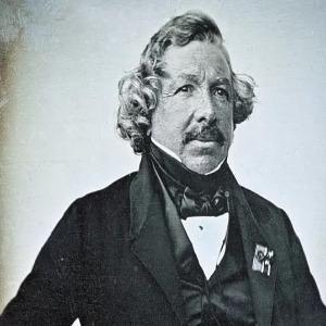 Daguerre Louis لويس داجير - Daguerreotype